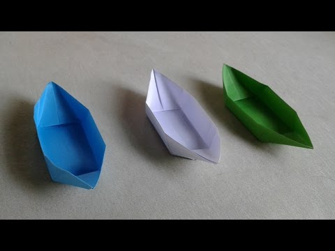 how to make a simple boat that floats