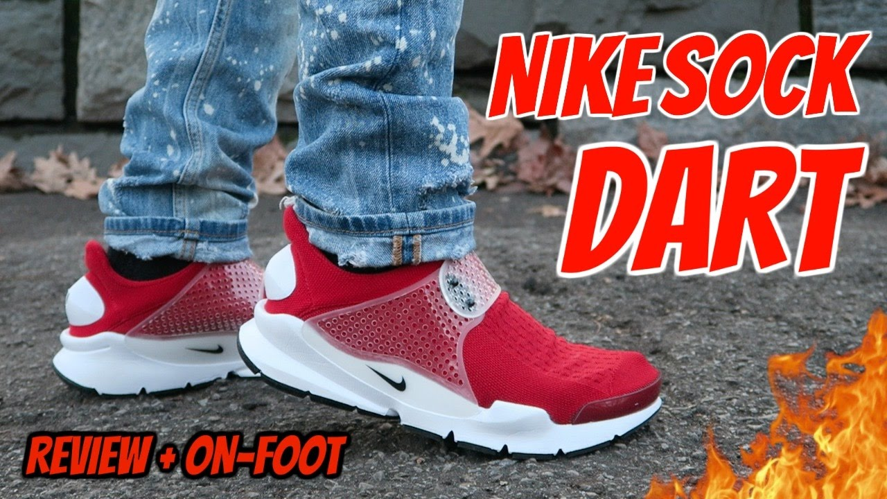 84e17a21e6a NIKE SOCK DART REVIEW!! (ARE THEY BETTER THAN ADIDAS ULTRA BOOST!!  ) -  YouTube