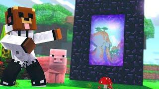 Portal a un Mundo Nuevo | Minecraft #13