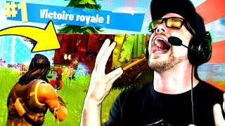 DÉFI:  TOP 1 TOUT SEUL en SQUAD !! (Fortnite: Battle Royale) thumbnail