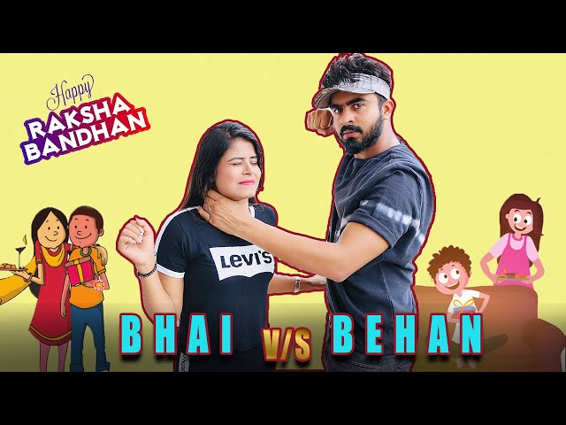 Bhai Behan ka Pyaar | Bhai vs Behan || Half Engineer