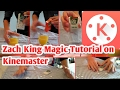 Zach King magic tic tac fresh mint tutorial 2 Android on Kinemaster new 2017