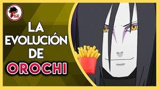 Naruto: Historia y Evolución de OROCHIMARU (El Vende Papas)