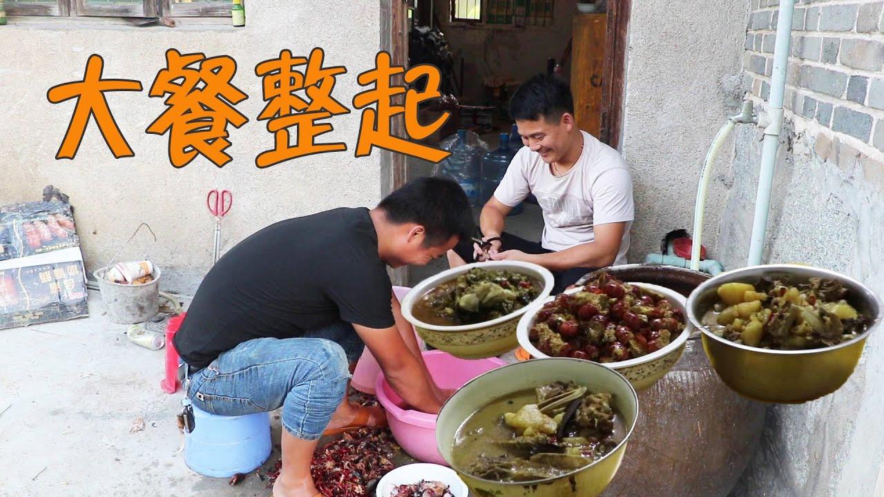 8斤龍蝦怎麼吃?小石頭跟猴哥這樣做,讓兄弟們吃個得勁【石頭秀】
