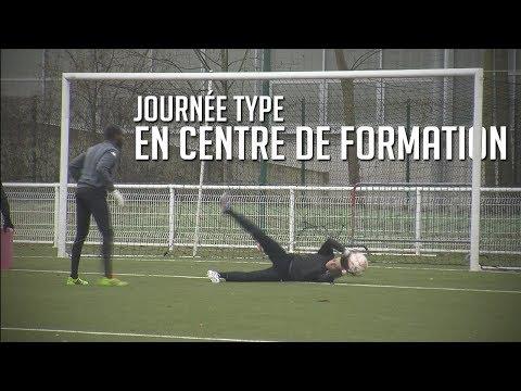 UNE JOURNÉE TYPE EN CENTRE DE FORMATION   FOOTBALL