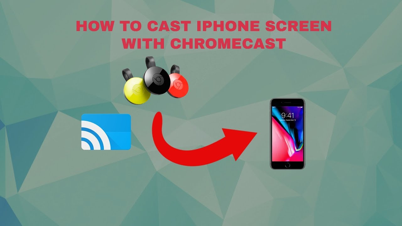 HOW TO SCREEN MIRROR YOUR IPHONE SCREEN ON CHROMECAST!?