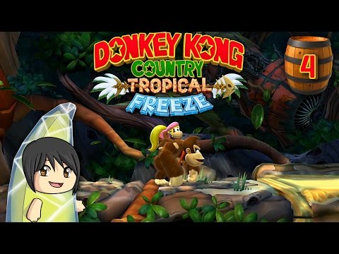 Donkey Kong Country Tropical Freeze - Part 4: