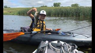 Is This Heaven No its kayak fishing in Iowa Jiggin Johnsons Episode 9