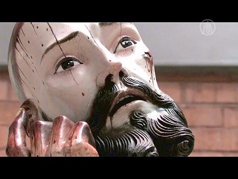 У статуи Христа оказались человеческие зубы (новости)