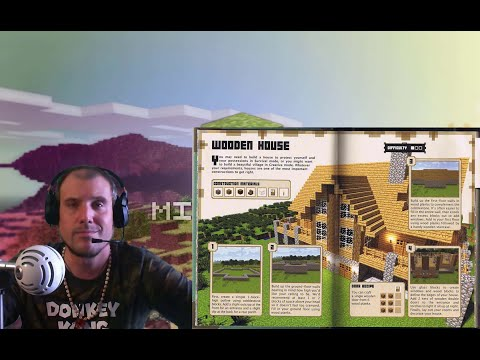 How To Build A Wooden House In Minecraft – From Minecraft Construction Handbook — VideoGamersOasis
