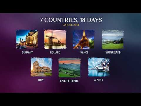 DELUXE GRAND EUROPE TOUR | SUMMER VACATIONS 2018 | DELUXE HOLIDAYS | TRAVEL AGENCY & TOUR OPERATOR