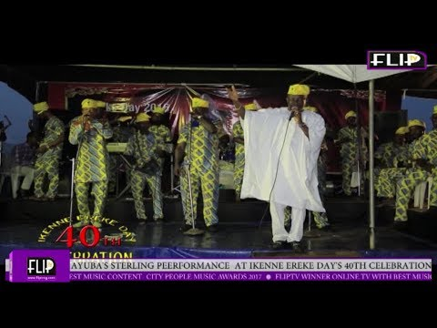 AYUBA'S STERLING PERFORMANCE AT IKENNE EREKE DAY'S 40TH CELEBRATION