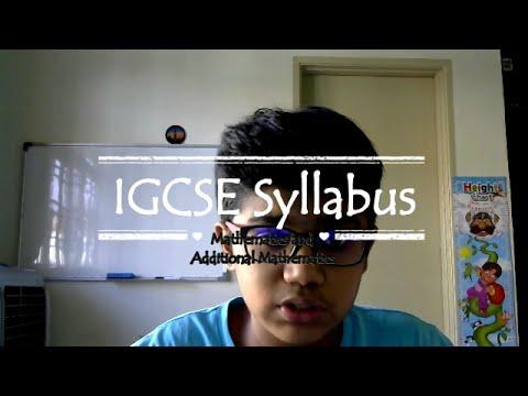 IGCSE |Mathematics| Syllabus thumbnail