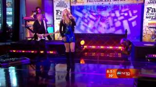 Shakira: She Wolf (Live On Good Morning America) ++HQ