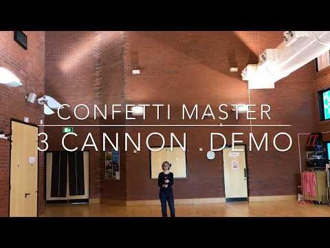 Confetti Cannon Size Comparison