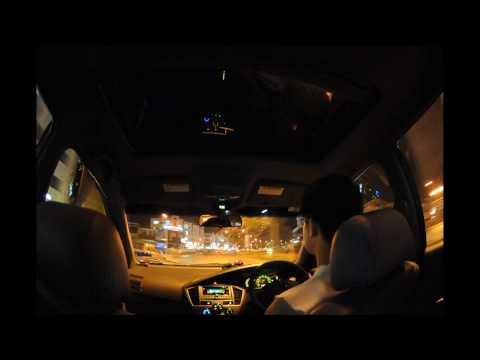 Kuching Night Driving Time Lapse