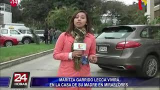 Vecinos juntarían firmas para expulsar a Maritza Garrido Lecca de Miraflores