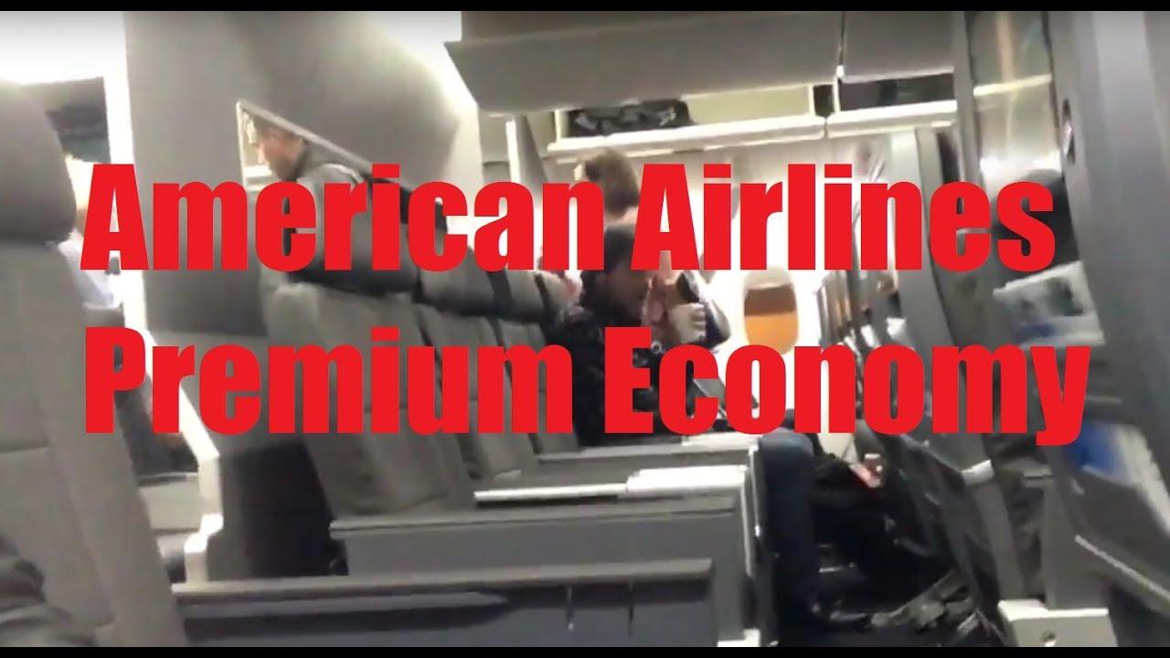 American Airlines Aa Premium Economy On Boeing 777