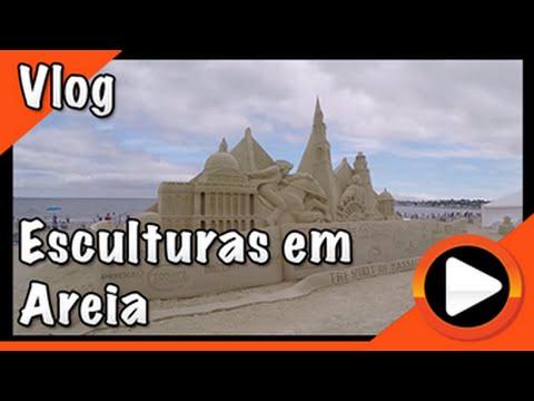 Festival Internacional de Escultura em Areia 2015 - Db in The USA #66