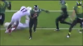 oregon football running back goes beast mode
