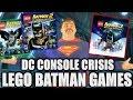 DC CONSOLE CRISIS: Part 7 // Lego Batman Games