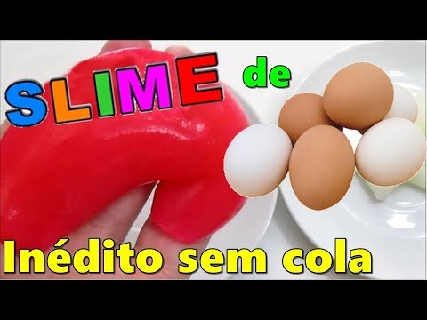 AMOEBA HARD EGG MONTHS WITHOUT TAIL WITHOUT WATER BORICADA DIY SLIME