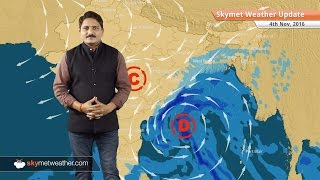 Weather Forecast for Nov 4: Smog in Delhi, depression in Bay to give rain in AP, Odisha, Kolkata