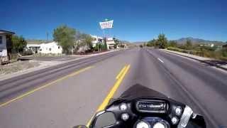 Riding Through Kingman Arizona