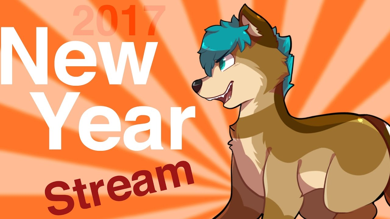 LIVE NEW YEARS COUNTDOWN with ChaoticCanineCulture - YouTube