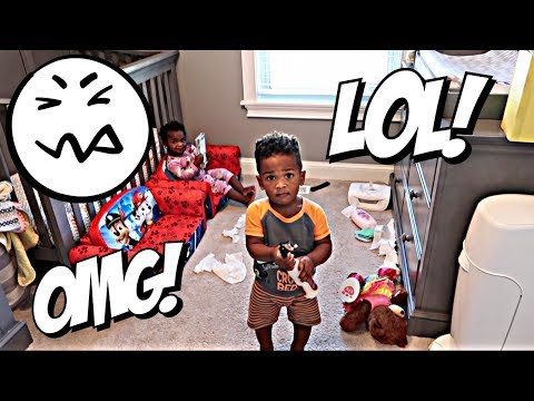 OMG! WHAT DID THE TWINS DO NOW?!?! 😫😫👶🏽👶🏾