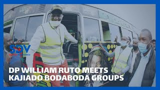 DP William Ruto meets Bodaboda groups from Kajiado, promises to support micro-small enterprises