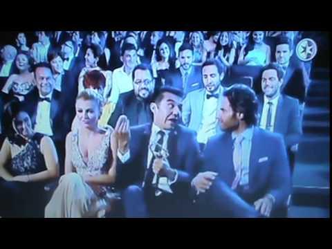 Premios Telenovelas - Adrian Uribe y sus chistes
