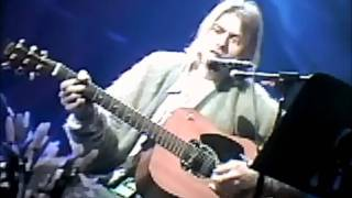 nirvana come as you are unplugged rehearsal