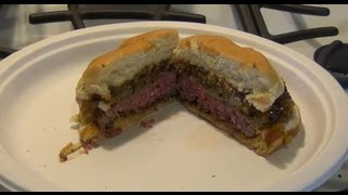 How Grill Medium Hamburger Cheeseburger
