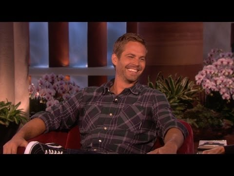 Ellen on Paul Walker