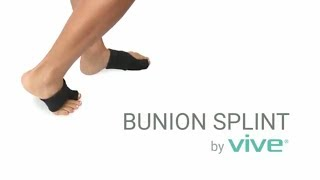 Bunion Splint by Vive - Toe Straightener & Corrector Brace Pad for Hallux Valgus Toe Pain Relief