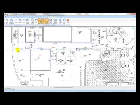 Floor Estimate Pro ( FEP ) - Takeoff the blue print with Freedraw tool