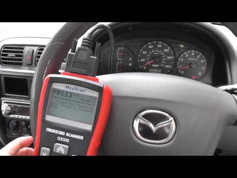 Mazda Check Engine Warning Light Being Reset