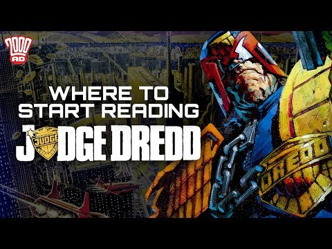 Judge Dredd: Mega-City One: where to start reading Judge Dredd