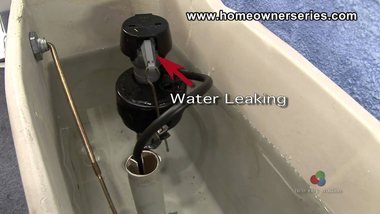 How To Fix A Toilet Diagnostics Internal Leaking