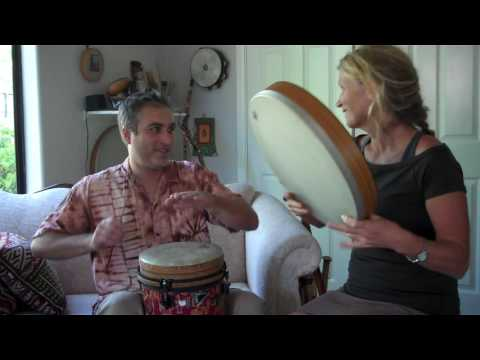 Conga and frame drum with Dan Cartamil and Christine Stevens