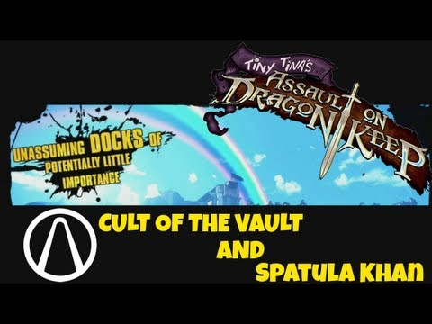 Borderlands 2 - Unassuming Docks Vault Symbols and Spatula Khan