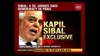 'Vice-President Is Not The Judge': Congress' Kapil Sibal On CJI Impeachment Row