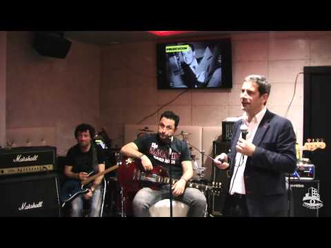 E-Innobar: Presentación del libro 'Rock Marketing' por Pablo Adán + Dresden Band en concierto