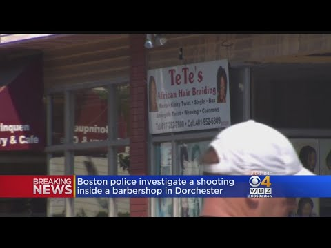 Man Shot In Dorchester Barber Shop
