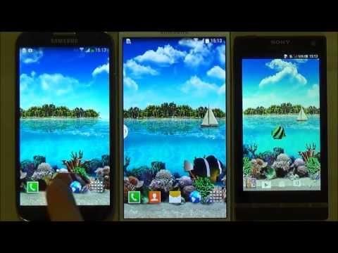 Тропическое Море Живые Обои для Android