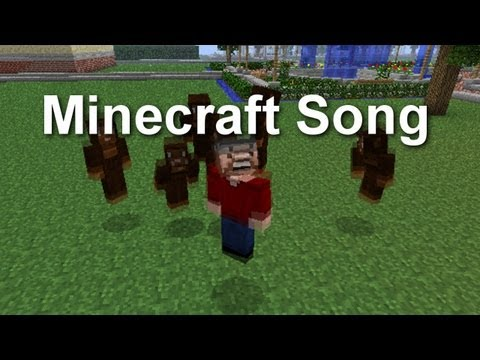 The Minecraft Song ( Parody to Bruno Mars - Lazy Song )