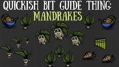 Don't Starve Together Quick Bit: Mandrakes