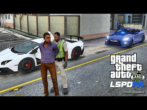 LSPDFR #424 - GTR PATROL (GTA 5 REAL LIFE...