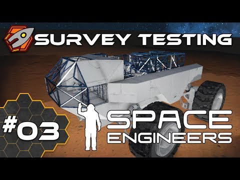Space Engineers - Survey Rover - Episode 3